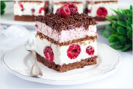 ciasto malinowy król