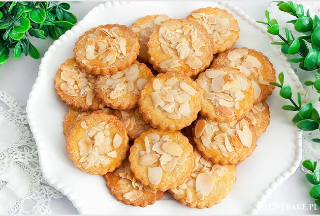 ciasteczka z migdałami