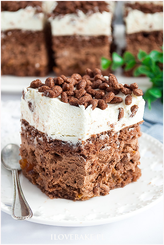 ciasto czekoladowy chrupek