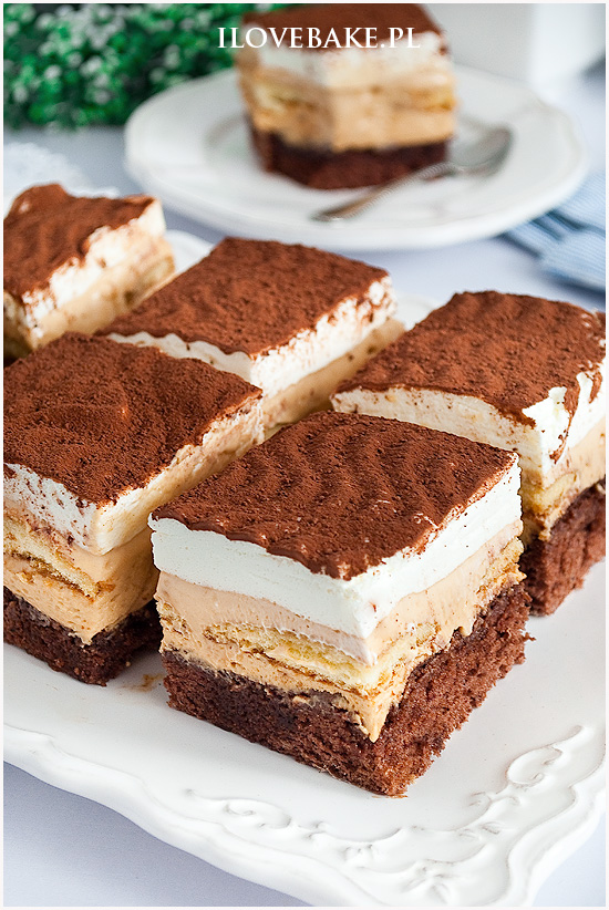 Ciasto kawowy kajmakowiec