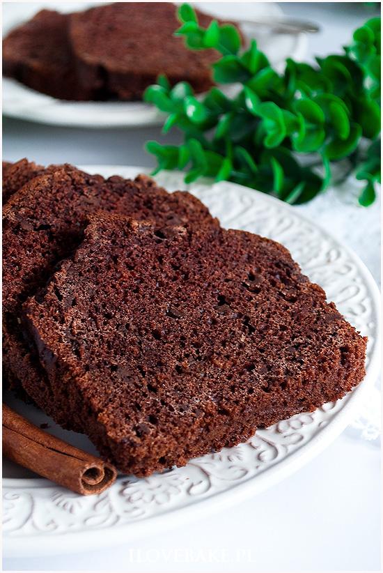 Ciasto czekoladowe bez jajek i mleka