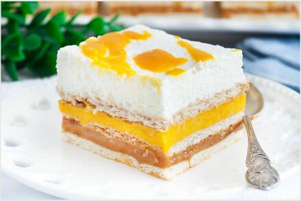 Ciasto 3 bit z mango