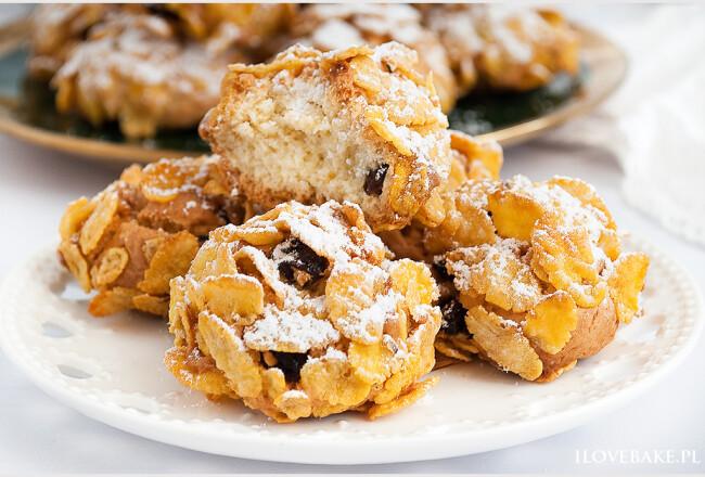 Ciastka z płatkami kukurydzianymi-3